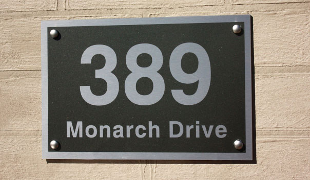 House signs house number signs plaques and plates custom house signs for your home or office designed and built in australia
