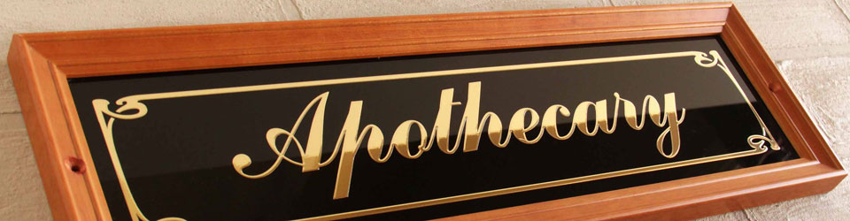 Timber & Glass Signs